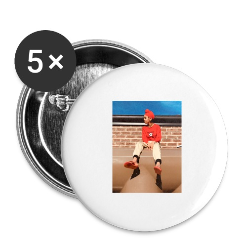 Flamin_Danger - Buttons large 2.2'' (5-pack)