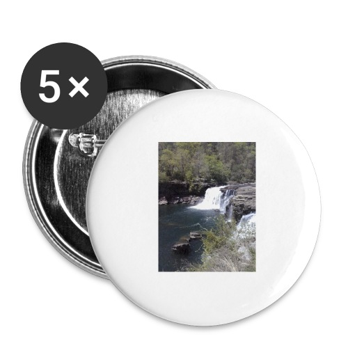 LRC waterfall - Buttons large 2.2'' (5-pack)