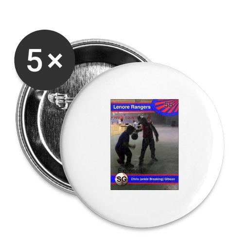 Basketball merch - Buttons large 2.2'' (5-pack)