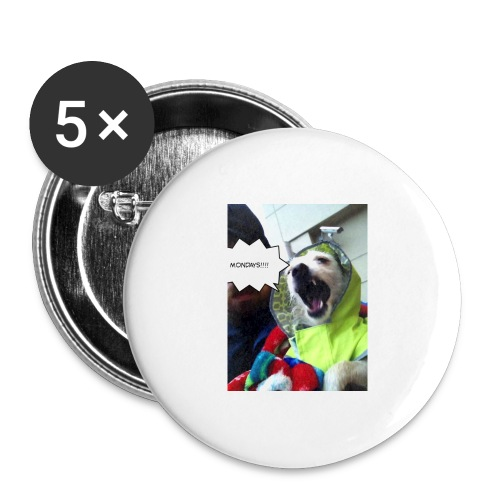 I hate Mondays - Buttons large 2.2'' (5-pack)