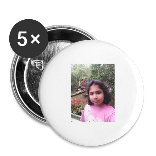Tanisha - Buttons large 2.2'' (5-pack)