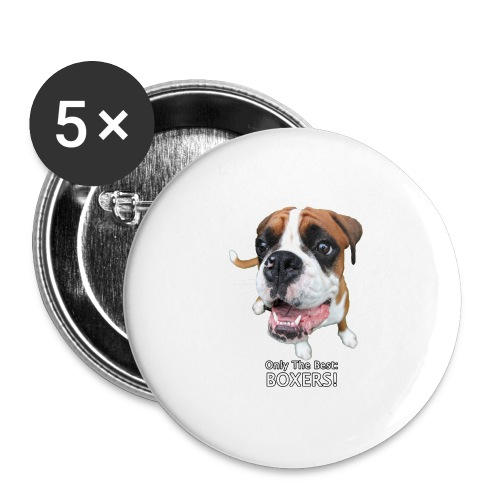 Only the best - boxers - Buttons large 2.2'' (5-pack)