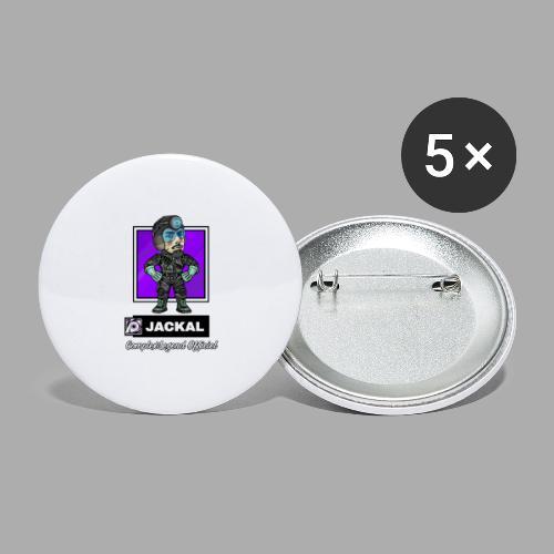 POPLegend - Jackal R6 - Buttons large 2.2'' (5-pack)