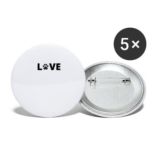 LpawVE - Buttons large 2.2'' (5-pack)