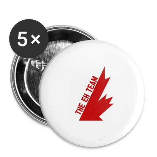 The Eh Team Red - Buttons large 2.2'' (5-pack)