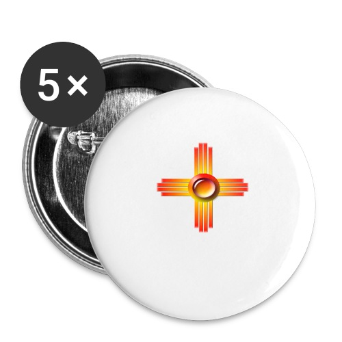 Morning Sun - Buttons large 2.2'' (5-pack)