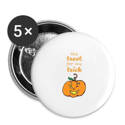 Trick or Treat Maternity - Buttons large 2.2'' (5-pack)