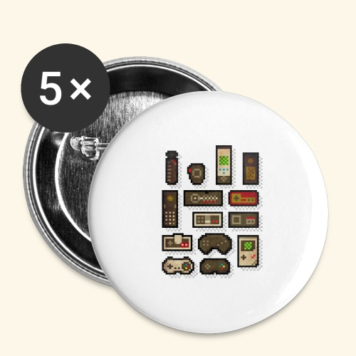 pixelcontrol - Buttons large 2.2'' (5-pack)