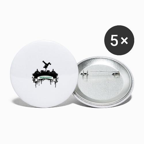 SASKHOODZ CITY - Buttons large 2.2'' (5-pack)