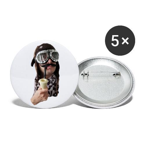Winston Beauregard - Buttons large 2.2'' (5-pack)