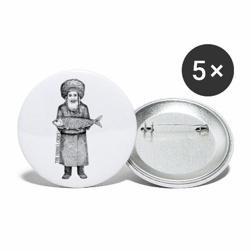 The Rebbe s Choice - Buttons large 2.2'' (5-pack)