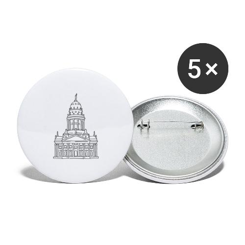 French Cathedral Berlin - Buttons large 2.2'' (5-pack)