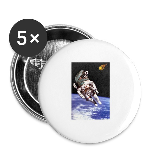how dinos died - Buttons large 2.2'' (5-pack)