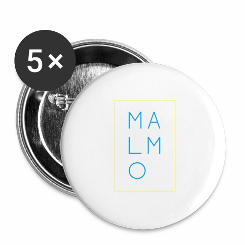 MALMO - Buttons large 2.2'' (5-pack)