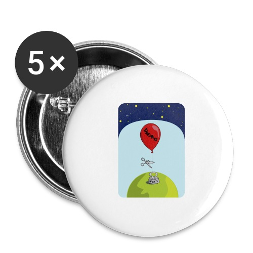 dreams balloon and society 2018 - Buttons large 2.2'' (5-pack)