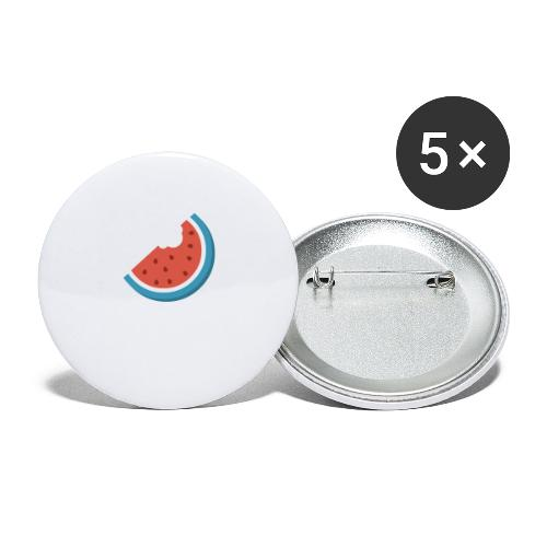 Summer Periscope Melon - Buttons large 2.2'' (5-pack)