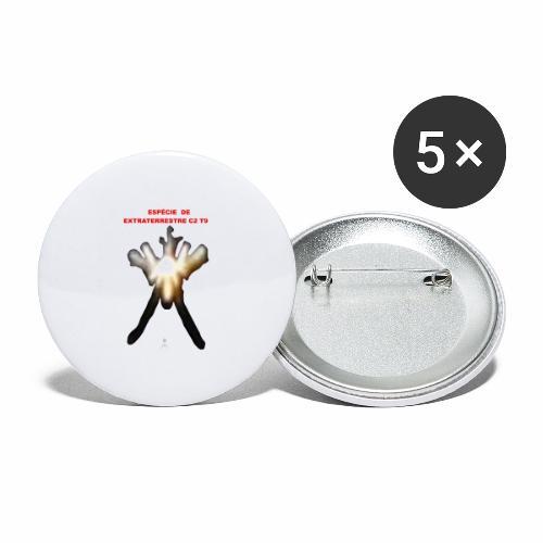 ESPE CIE DE EXTRATERRESTRE C2 T9 - Buttons large 2.2'' (5-pack)
