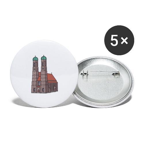 Munich Frauenkirche - Buttons large 2.2'' (5-pack)