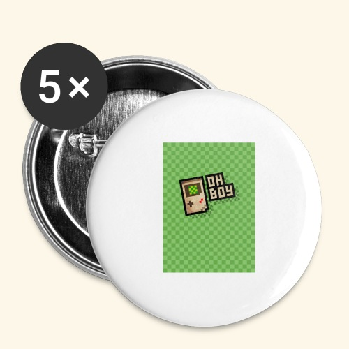 oh boy handy - Buttons large 2.2'' (5-pack)