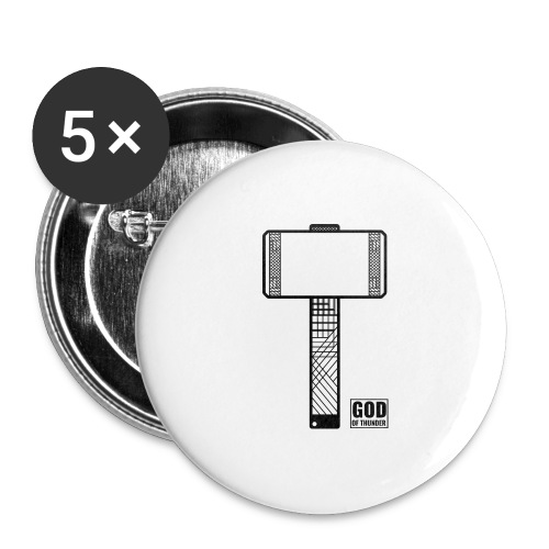thor - Buttons large 2.2'' (5-pack)
