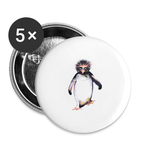 Penguin - Buttons large 2.2'' (5-pack)