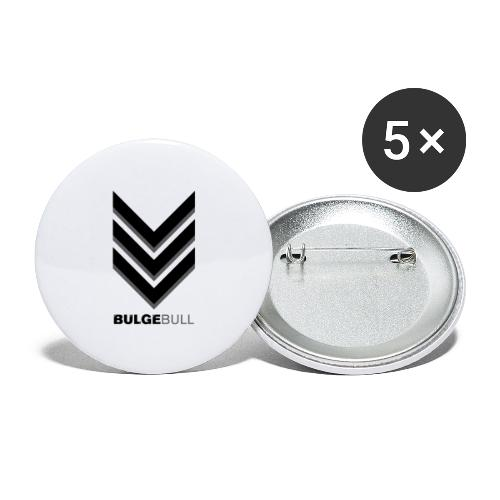 bulgebull_badge - Buttons large 2.2'' (5-pack)