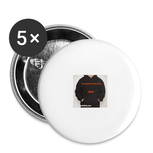 SHIRT - Buttons large 2.2'' (5-pack)