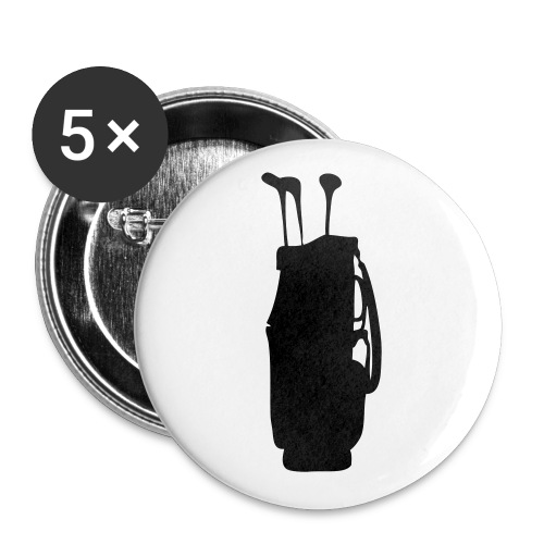 golf bag - Buttons large 2.2'' (5-pack)