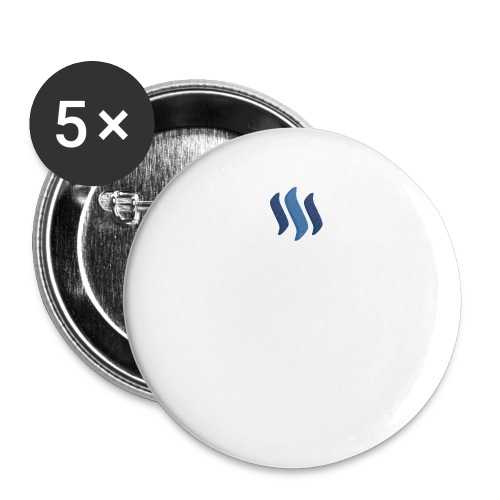 cloth steem png - Buttons large 2.2'' (5-pack)