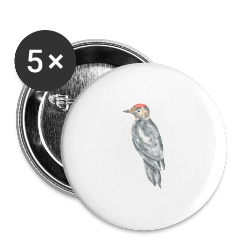 Bird - Buttons large 2.2'' (5-pack)