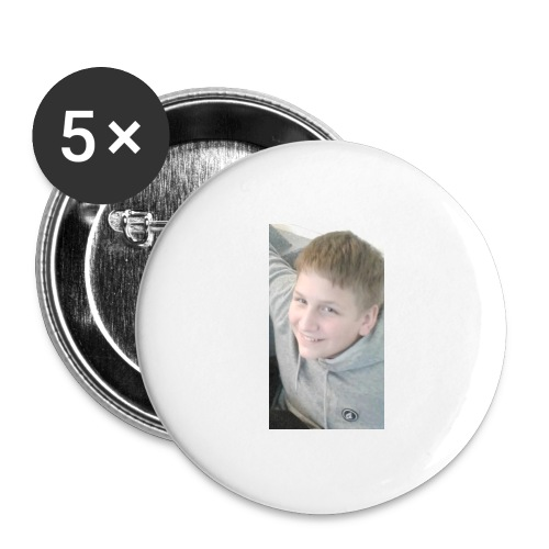 EvanTVSignatureMerch - Buttons large 2.2'' (5-pack)