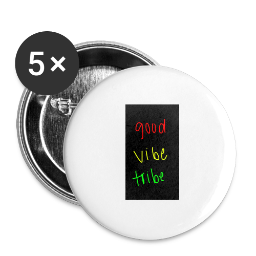 good vibe tribe - Buttons large 2.2'' (5-pack)