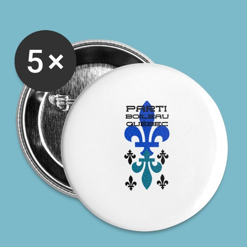 party boileau 9 - Buttons large 2.2'' (5-pack)