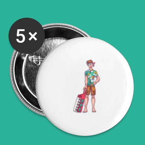 Wendal The Weed Wizard - Buttons large 2.2'' (5-pack)