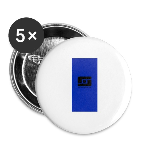 blacks i5 - Buttons large 2.2'' (5-pack)