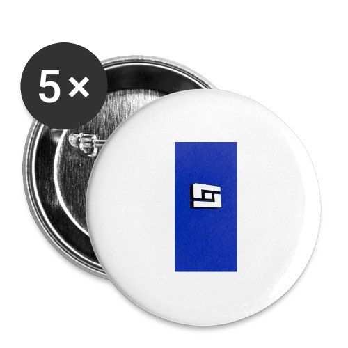 whites i5 - Buttons large 2.2'' (5-pack)