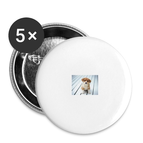 dog - Buttons large 2.2'' (5-pack)