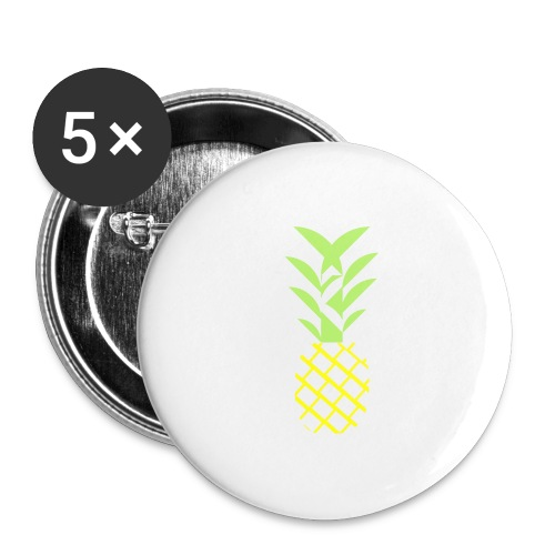 Pineapple flavor - Buttons large 2.2'' (5-pack)