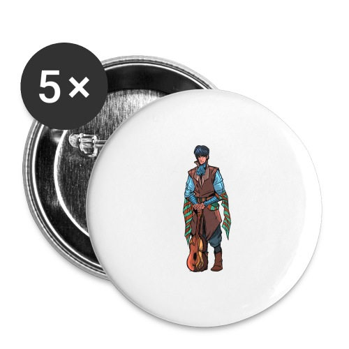 Billsby1 png - Buttons large 2.2'' (5-pack)