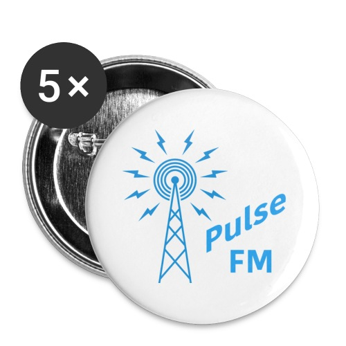 Pulse FM png - Buttons large 2.2'' (5-pack)
