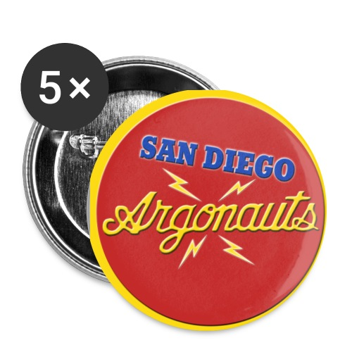 Argonauts Rnd Bleed - Buttons large 2.2'' (5-pack)
