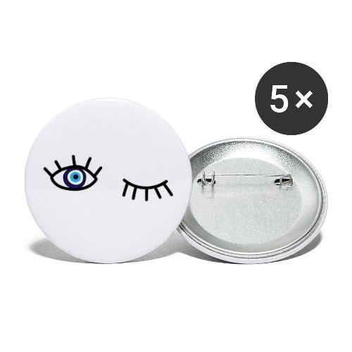 evil eye - Buttons large 2.2'' (5-pack)