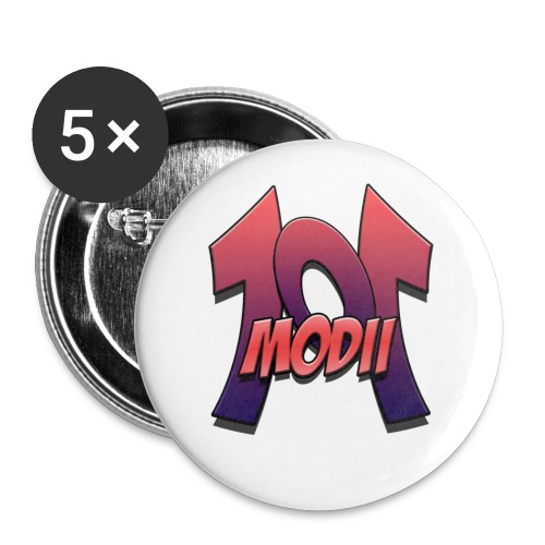 modii logo - Buttons large 2.2'' (5-pack)