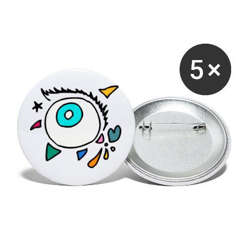 Punkodylate Eye - Buttons large 2.2'' (5-pack)
