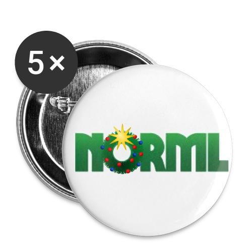 NORML Hoilidaze Logo - Buttons large 2.2'' (5-pack)