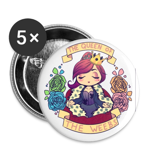 MSL: Queen of the Weebs - Buttons large 2.2'' (5-pack)