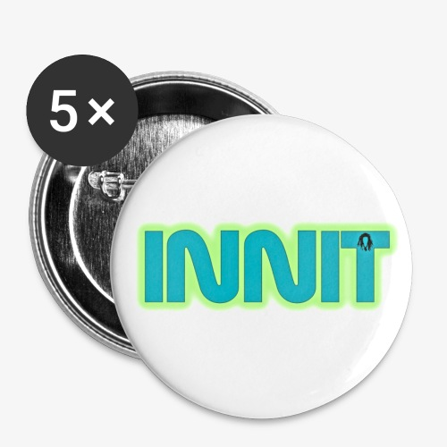 innit - Buttons large 2.2'' (5-pack)