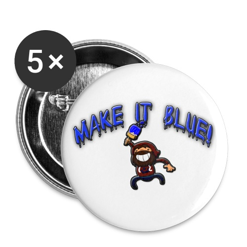 modii101 make it blue - Buttons large 2.2'' (5-pack)