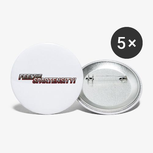 FeelTheSpartensity - Buttons large 2.2'' (5-pack)