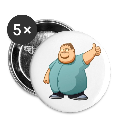 boogie nocaption - Buttons large 2.2'' (5-pack)